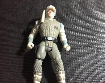 1997 Power of the Force Star Wars Vintage Hasbro Luke Skywalker - Hoth Gear - Empire Strikes Back Star Wars Loose Figure