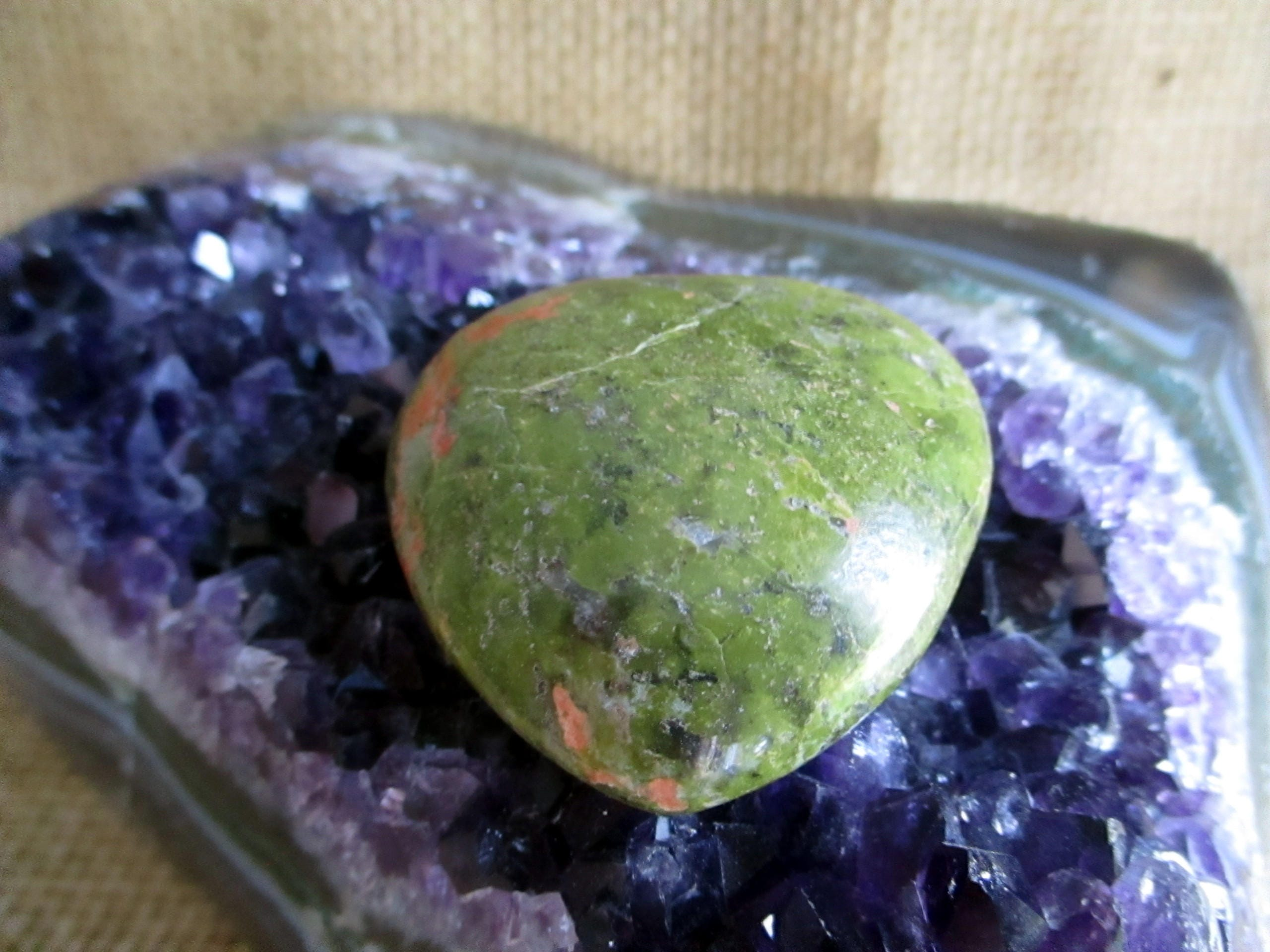 unakite natural sterling jewelry handmade silver gemstone pendant pin