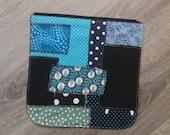 Patchwork bag flap for LA...