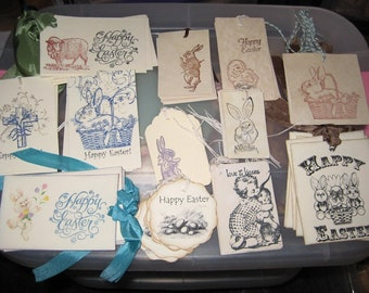 Over 75 Easter Gift Tags........gifts....birthday...Lot #2