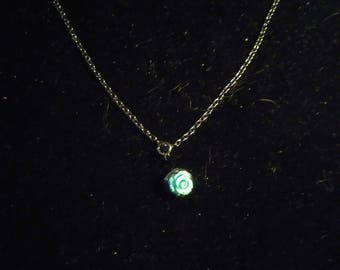 Magnasite Rose chain Necklace