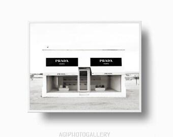 Prada Marfa, Texas Prada, Prada Poster, Prada Marfa Photo, Marfa Texas, Print Prada, Prada Wall Art, Texas Prada Poster, Prada Printable