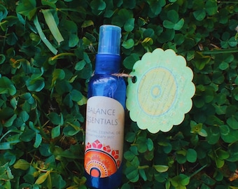 SALE!! Grounded 100% natural essential oil aromatherapy multipurpose mist