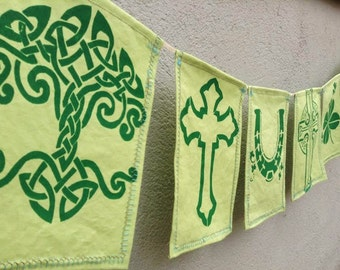 Celtic Knot Irish Banner
