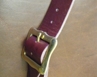 Leather Kilt Strap Set of 3