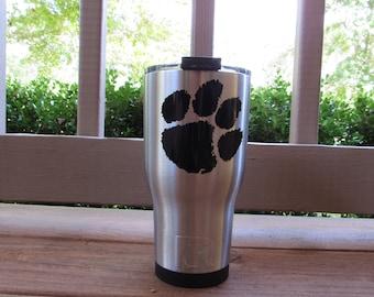Clemson Tigers Tumbler/Clemson UniversityTumbler/Clemson Tigers RTIC Cup/Clemson Cup/Clemson Tigers/Clemson Football