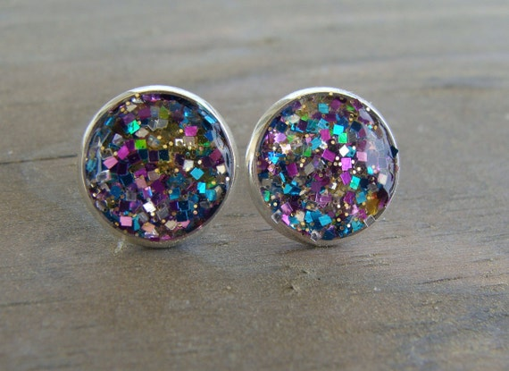 earth kate diy inspired earrings studs pin face glitter spade and craft