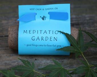 Bonsai kit, meditation garden kit, bonsai seed, garden gift, seed kit, diy kit, Japanese maple seeds, anxiety, meditation kit