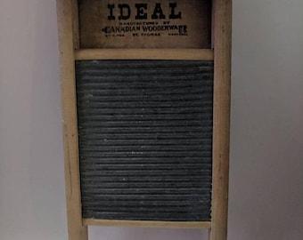 ON SALE Vintage Ideal Washboard