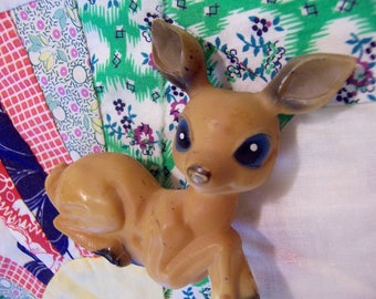 adorable plastic deer figurine