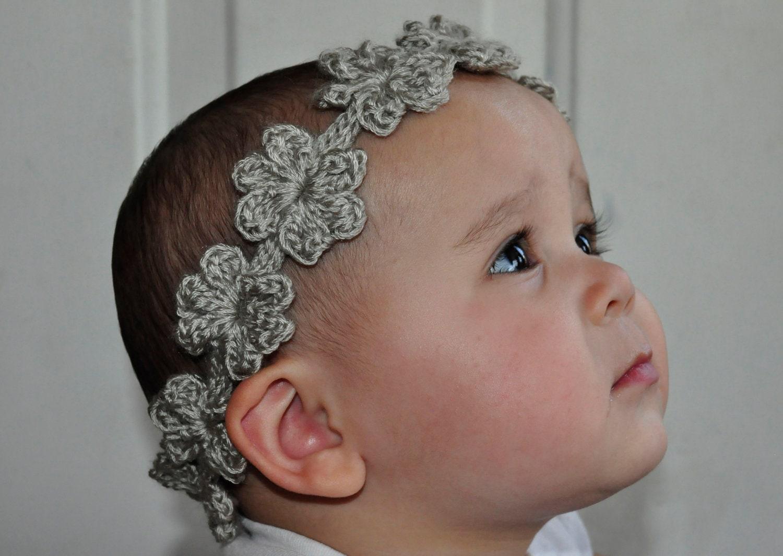 Crochet pattern pdf headband bracelet flower garland zoom bankloansurffo Image collections