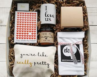 Valentine Gift Set Valentine Gift Box Valentine Package Valentines Day Gift Valentines Day Gift Box Boyfriend Gift Girlfriend Gift for Her