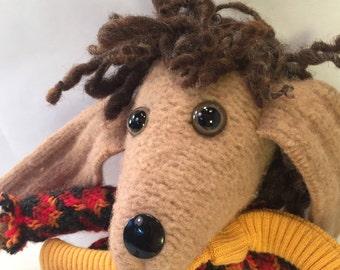 Jacaranda the wool doll