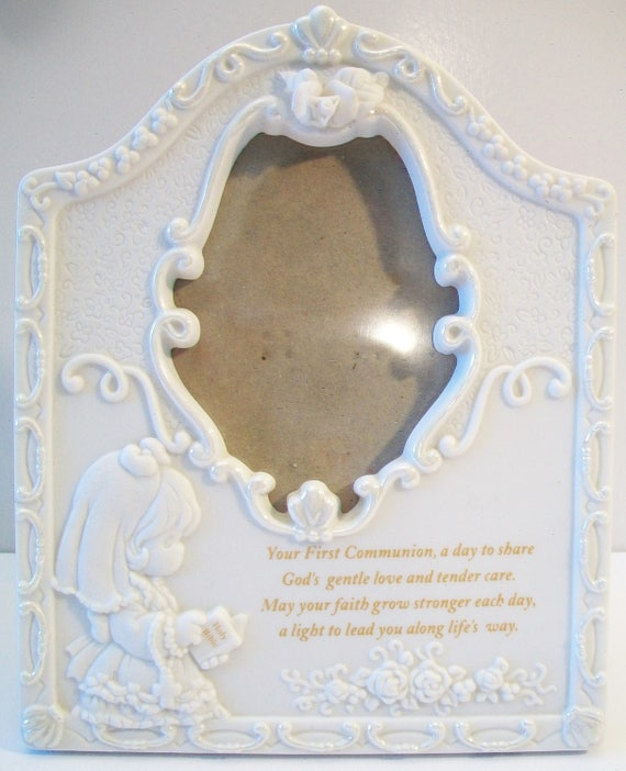 Precious Moments First Communion Picture Frame Religious Home