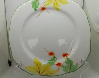 Royal Stafford Bone China Art Deco tea plate. Vintage china plate