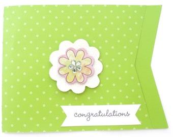 Congratulations card, congrats card, wedding card, congratulations, promotion card, congrats greeting card, sweet 16 card, anniversary card