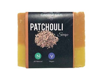 Patchouli All-Natural PREMIUM Cold Process Soap