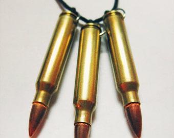 Tri-Bullet Necklace