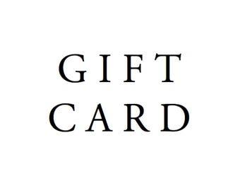 GIFT CARD - 100 DOLLARS