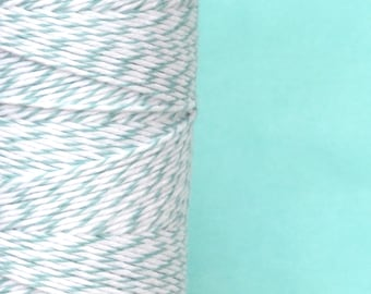 Gift Wrap Teal Cotton Bakers Twine for Crafting, Presents and Finishing Touches