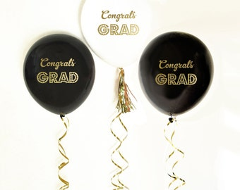 Graduation Balloons | Graduation Banner | Graduation Backdrop | Graduation Party Decorations 2018 | Grad Party | Class of 2018