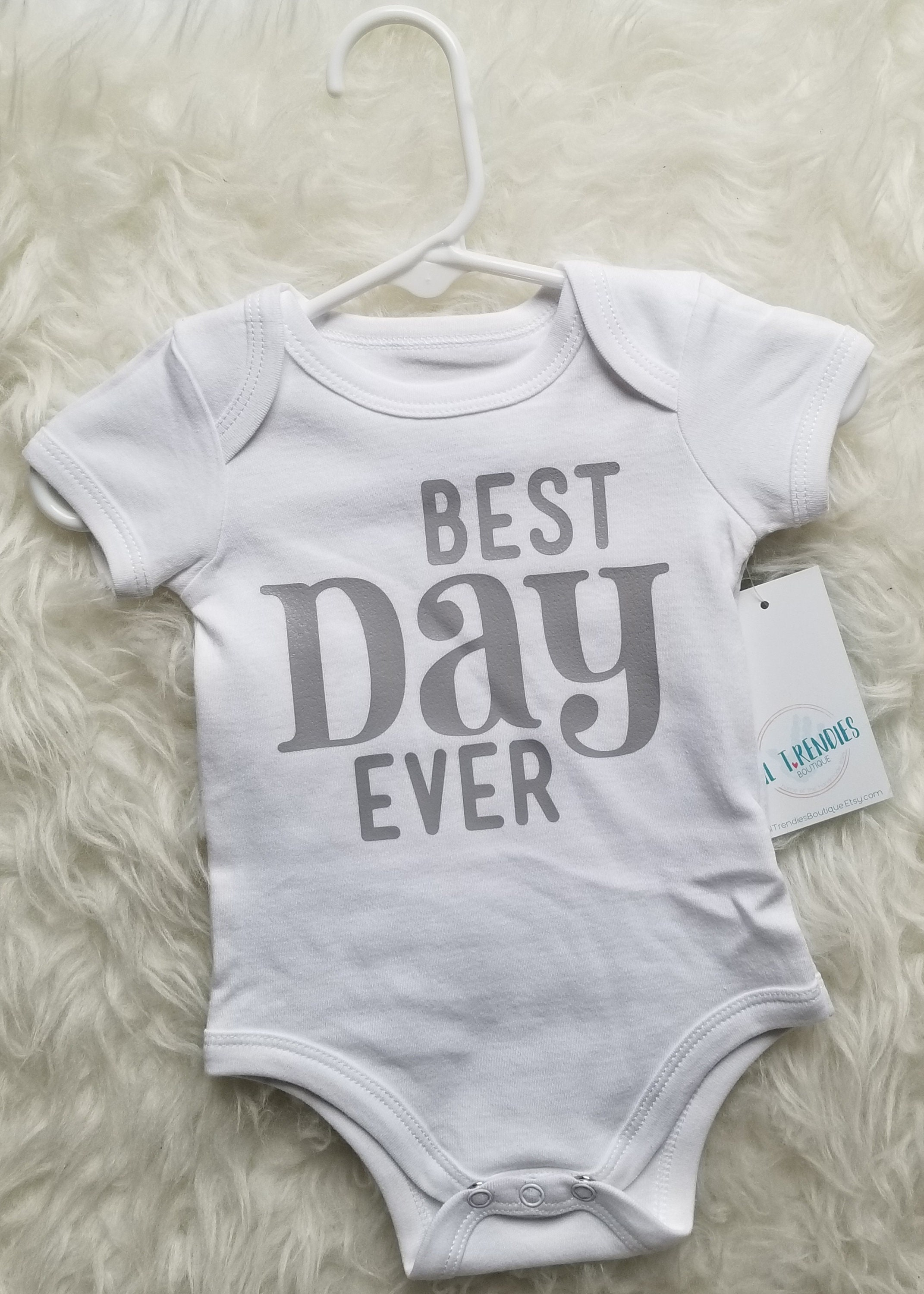 Newborn Baby bodysuit Ready to ship Baby girl clothes