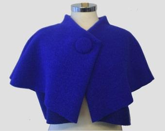 CAPELET cobalt blue S/M
