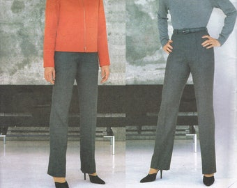 LAROCHE Size 14-18 Misses Jacket & Pants Sewing Pattern  - Straight Leg Pants Pattern - Cropped Jacket Pattern - Vogue Paris Original 2205