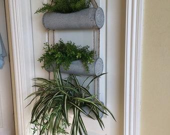 Metal Canister Door Hanger, Wall Hanger