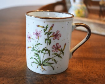 Vintage Botanical Coffee Mug