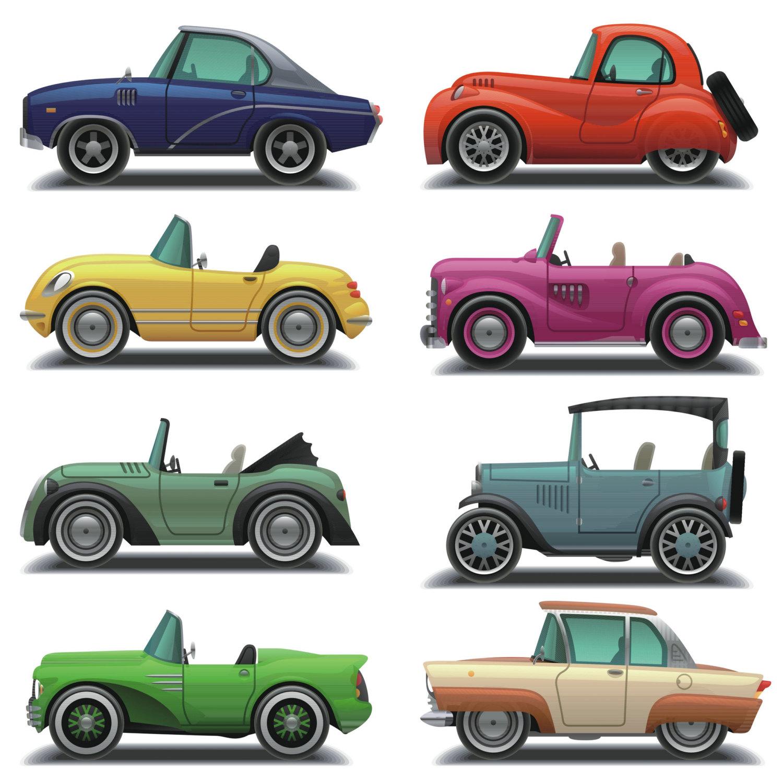 Car Clipart, Car Clip Art, Vintage Car Clipart, Vintage