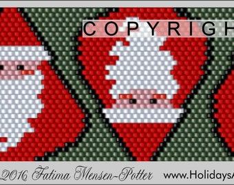 Peyote Pattern PDF File - Fat Santa