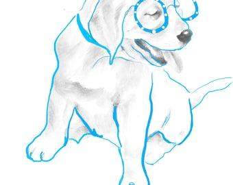 Printable Dog Nursery