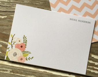 Personalized Note Cards - Set of 8 - Sammy Note