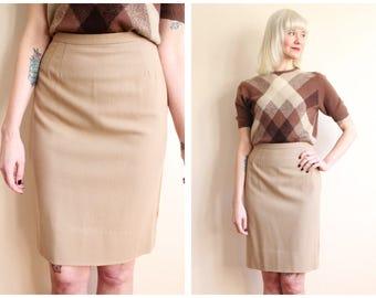1960s Skirt // Jantzen Wool Skirt // vintage 60s skirt
