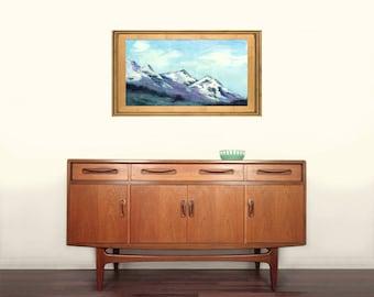 The Peaks - Original Watercolour Painting - Canadian Art
