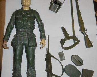 """Vintage 12"""" 12 inch 1/6 MARX Stoney Smith action figure Paratrooper Mexico variant loose"""