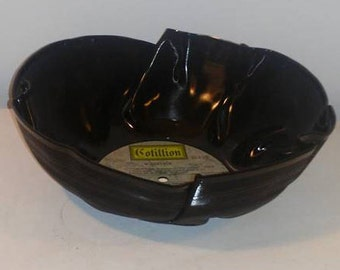 Woodstock Vinyl Record Bowl perfect for chips or popcorn great gift for any occasion Free Shipping