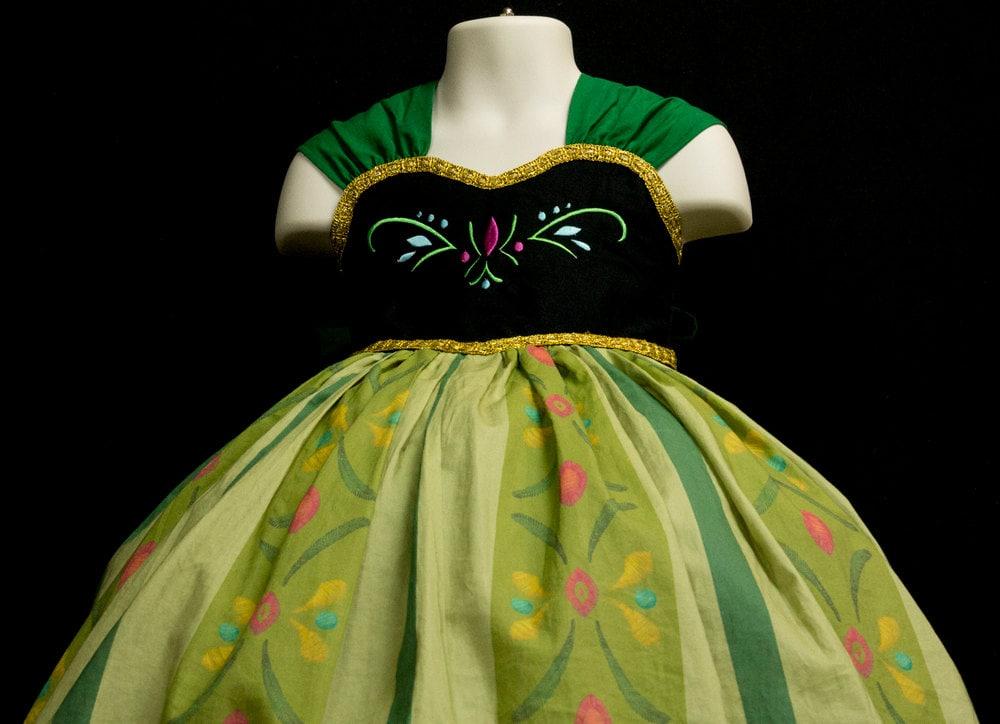 Disney frozen anna coronation dress images