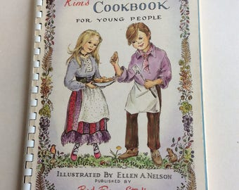 Vintage Book, it's Cookbook for Young People
