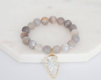 Courageous Bracelet - Arrowhead Bracelet
