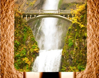 Multnomah Falls Night Light