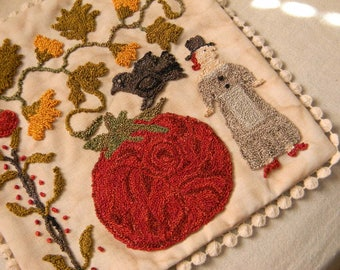 Tomato Season - RUG HOOKING Pattern - PDF/Download - from Notforgotten Farm™