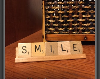 SMILE,  Home Decor, Office Desk, Dentist Office, Orthodontist Decor, Friend Birthday, Just Because Gift, Encouragement, Coworker Gift