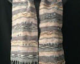 Handwoven Saori Style Scarf
