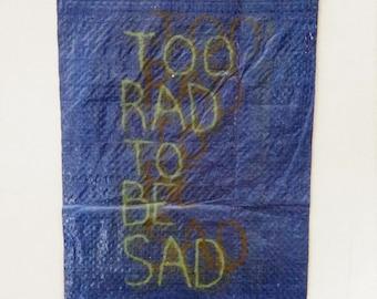 Screenprinted Tarp (Blue) TRTBS