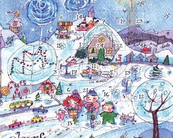 Advent Calendar Share Joy