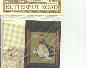 Feathers and Friends, the first Butternut Road design