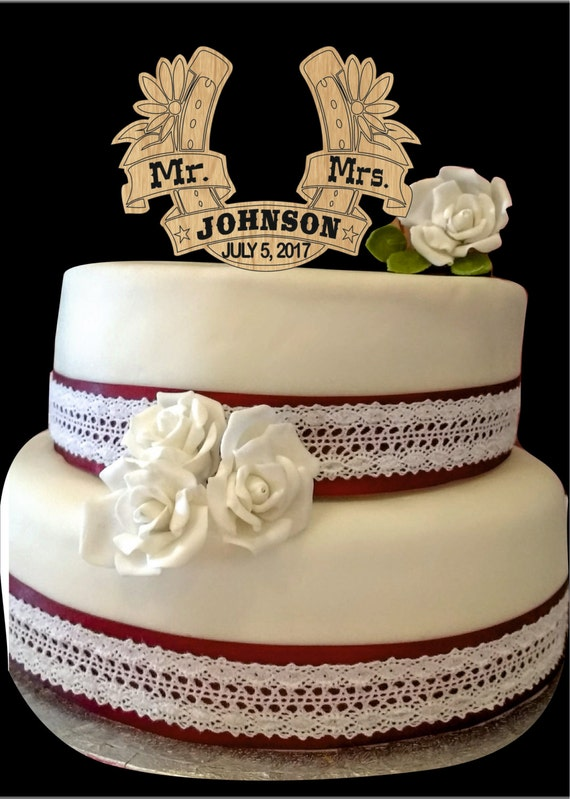 wedding cake with monogram items similar to personalized mr and mrs wedding cake 26927