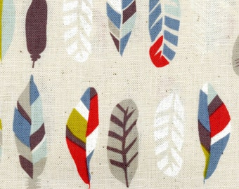 Natural Ethnic - Natural Feathers CANVAS from Kokka